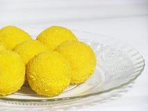 印第安传统甜点 图库摄影