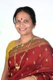 印第安传统妇女 库存照片