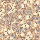 印第安卢比无缝的纹理 库存图片