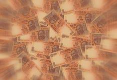 印第安卢比货币 库存照片