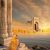 印第安堡垒 免版税库存照片