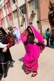 印第安女孩 免版税库存图片
