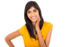 印第安妇女年轻人 库存照片