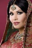 印第安妇女 库存照片