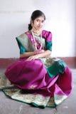 印第安妇女 免版税库存图片