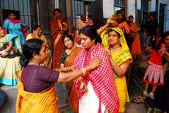 印第安婚姻 库存照片