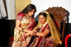 印第安婚姻 库存图片