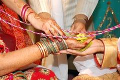 印第安婚礼 免版税库存照片