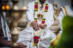 印第安婚礼 库存照片