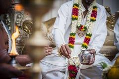 印第安婚礼 库存图片