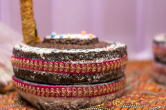 印第安婚礼 免版税库存图片