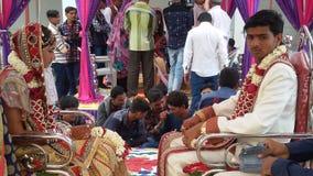 印第安婚姻 免版税库存图片