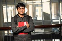 印第安学员年轻人 库存照片