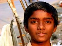 印第安孩子 库存图片