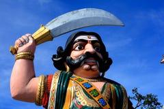 印第安守护程序雕象 免版税图库摄影