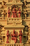 印第安寺庙石头雕刻 图库摄影