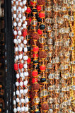 印第安小珠 免版税库存图片