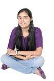 印第安少年 免版税库存照片