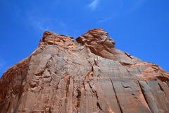 印第安岩石 库存图片