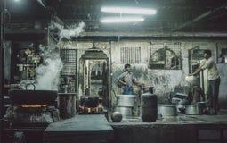 印第安工作者 免版税库存图片