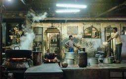 印第安工作者 免版税图库摄影