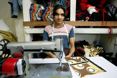 印第安工厂 库存照片