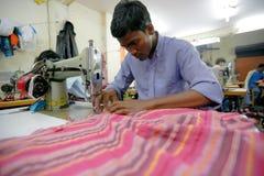 印第安工厂 免版税库存照片
