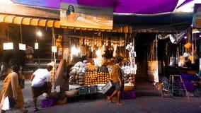 印第安市场 免版税库存图片
