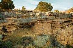印第安废墟 库存照片