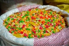 印第安意大利面食 库存图片