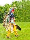 印第安战士 免版税库存照片