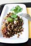 印第安扁豆沙拉 免版税库存图片