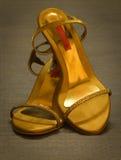 印第安拖鞋 免版税库存图片