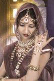 印第安新娘 库存图片