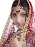 印第安新娘 免版税库存图片