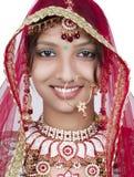 印第安新娘 免版税图库摄影