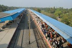 印第安旅途铁路运输 免版税图库摄影