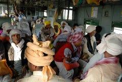 印第安旅途铁路运输 免版税库存图片