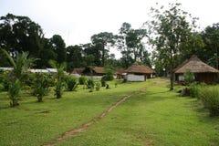 印第安村庄 图库摄影