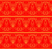 印第安模式 无缝的背景 皇族释放例证