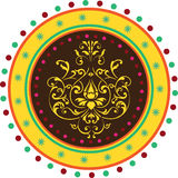 印第安模式 免版税库存照片