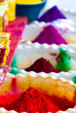 印第安牌照香料 库存图片