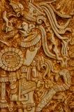 印第安玛雅战士 库存照片