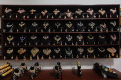 印第安珠宝显示 免版税库存照片
