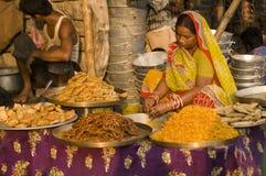 印第安甜点 库存图片