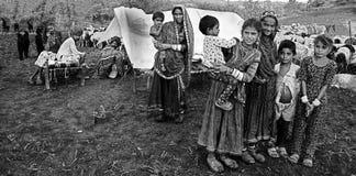 印第安生活方式 图库摄影
