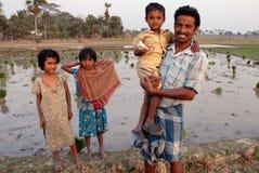 印第安生活村庄 免版税库存照片