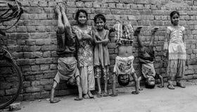 印第安生活街道 免版税图库摄影
