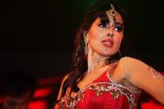 印第安电影明星 库存图片