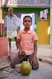 印第安男孩 免版税图库摄影
